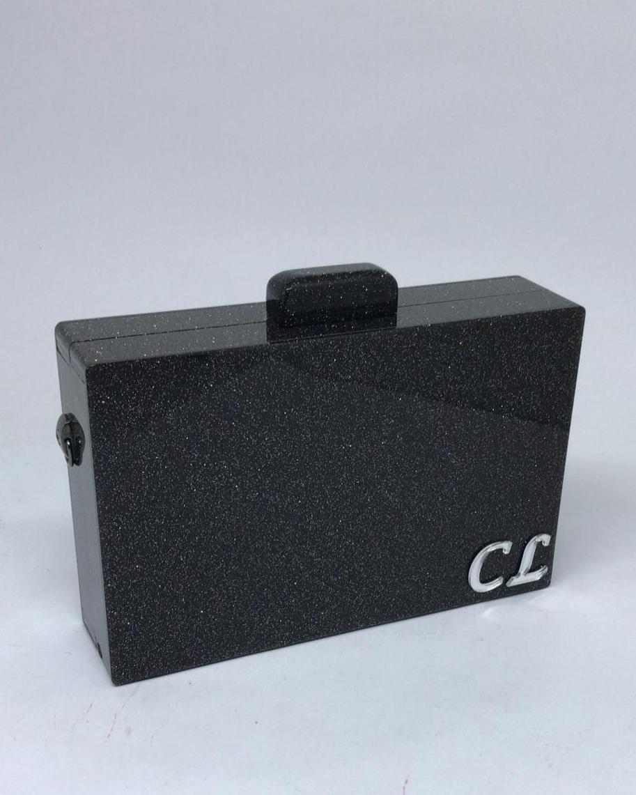 Bolsa Clutch Personalizada Retangular Acrílico