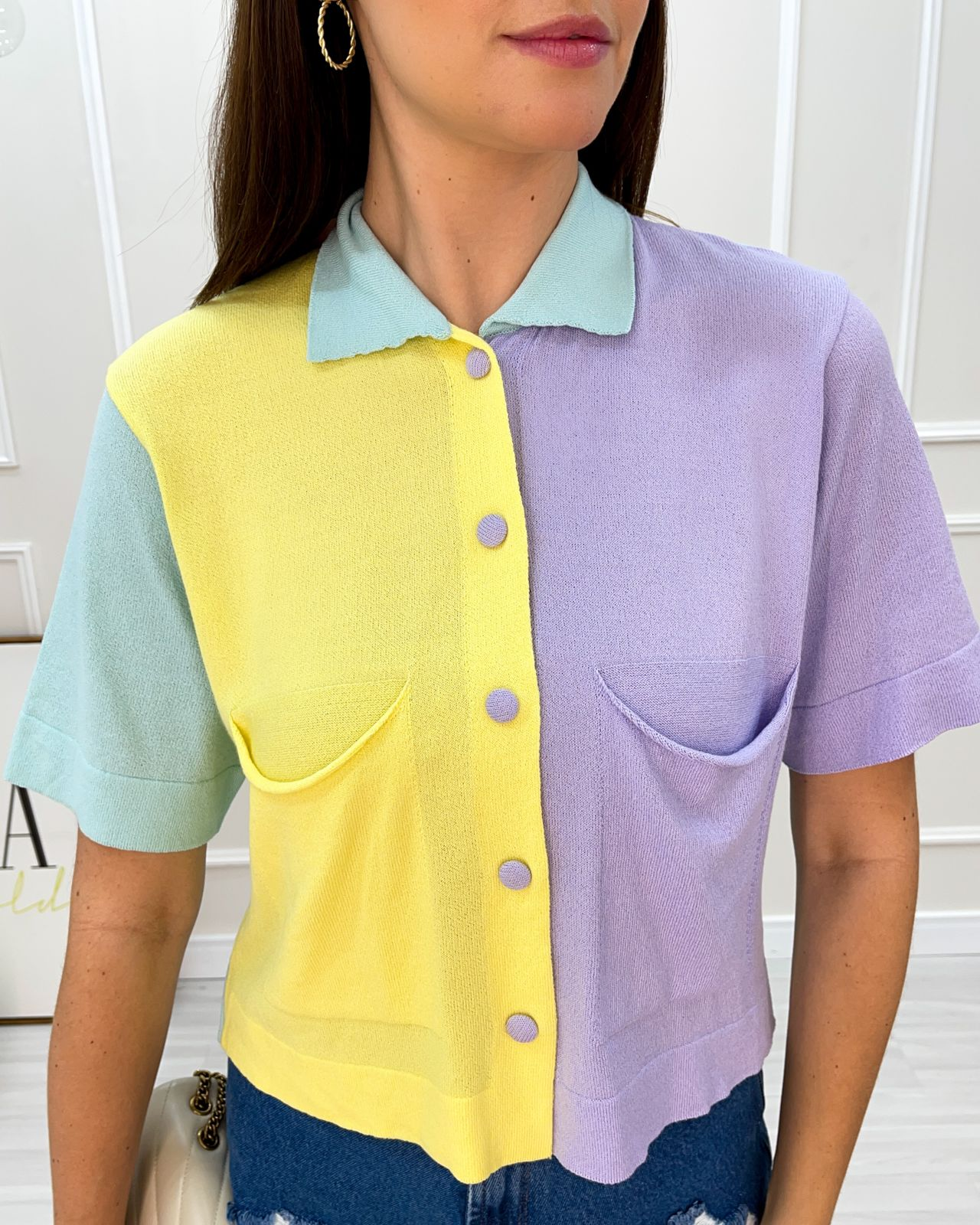 Camisa Candy Colors