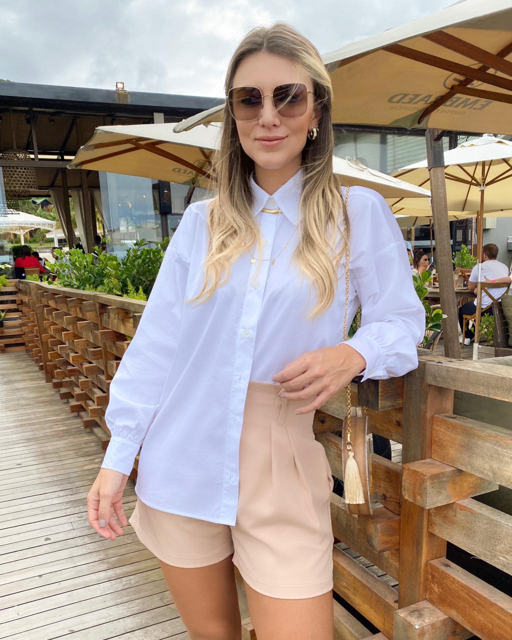 Camisa Oversized Branca