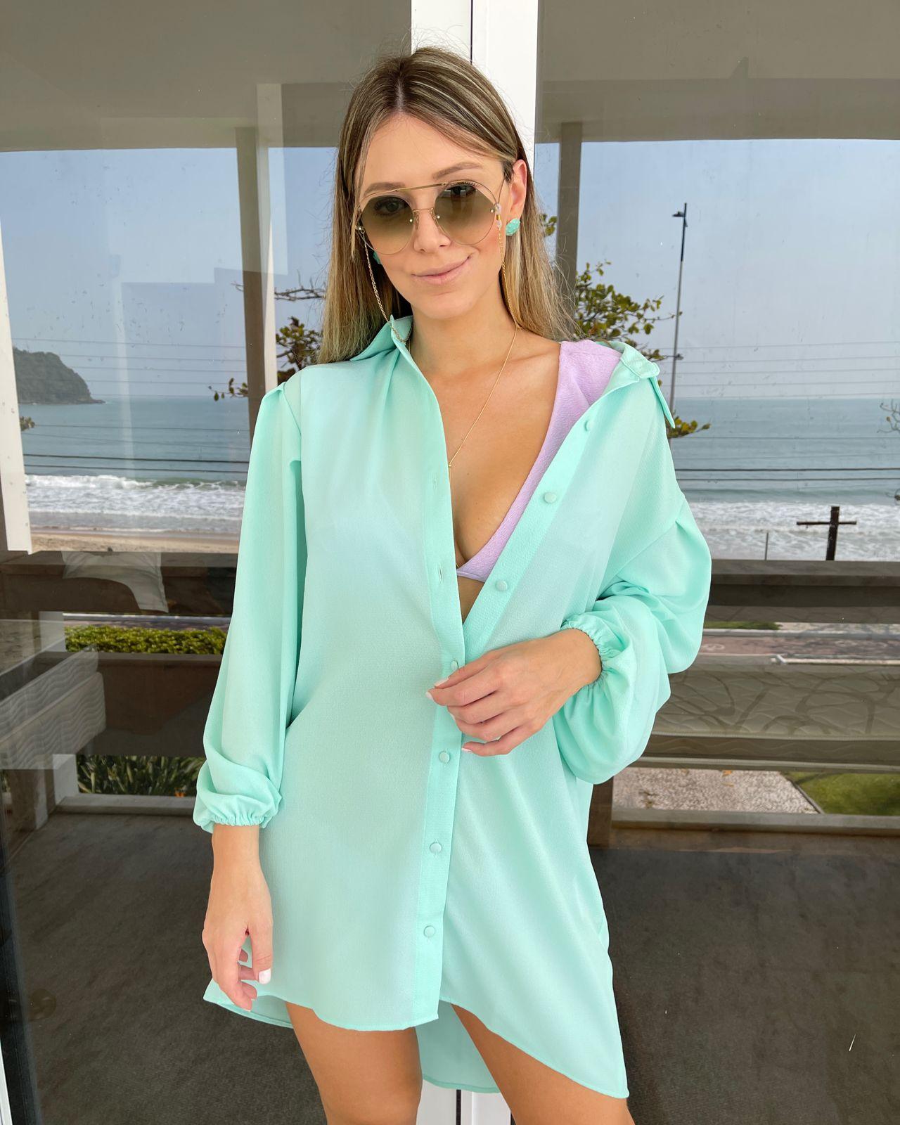 Camisa Oversized Tiffany