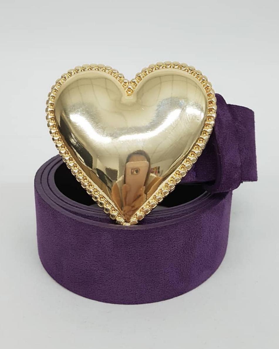 Cinto Coração Purple