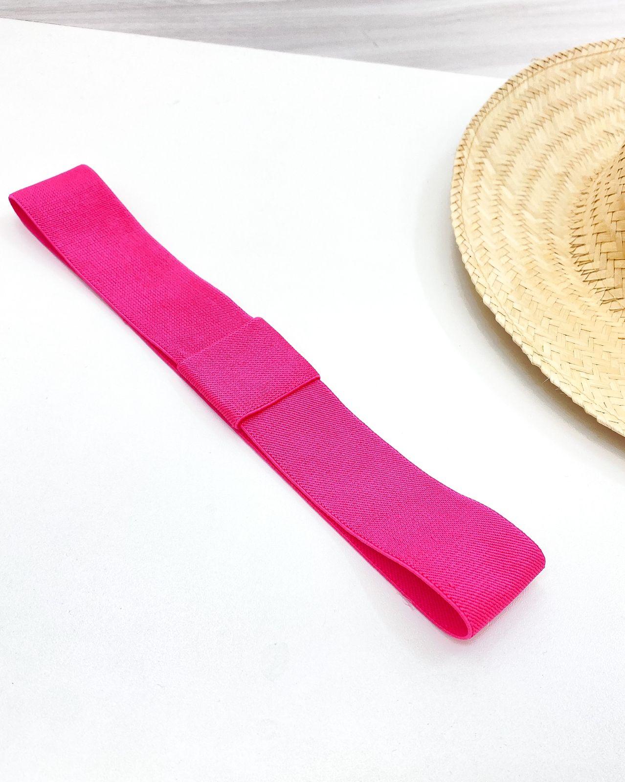Faixa para Chapéu Pink