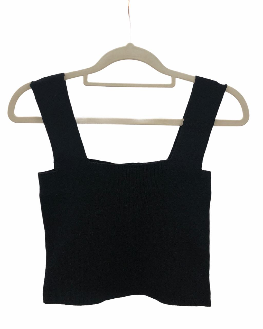Cropped Tricô Must Have