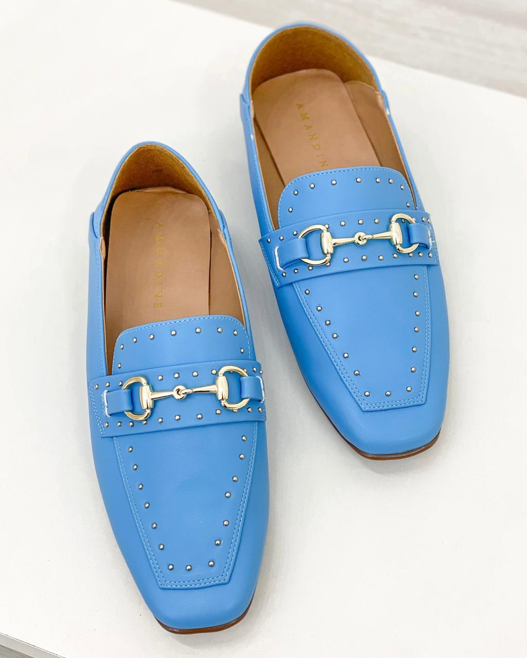 Mocassim London Azul