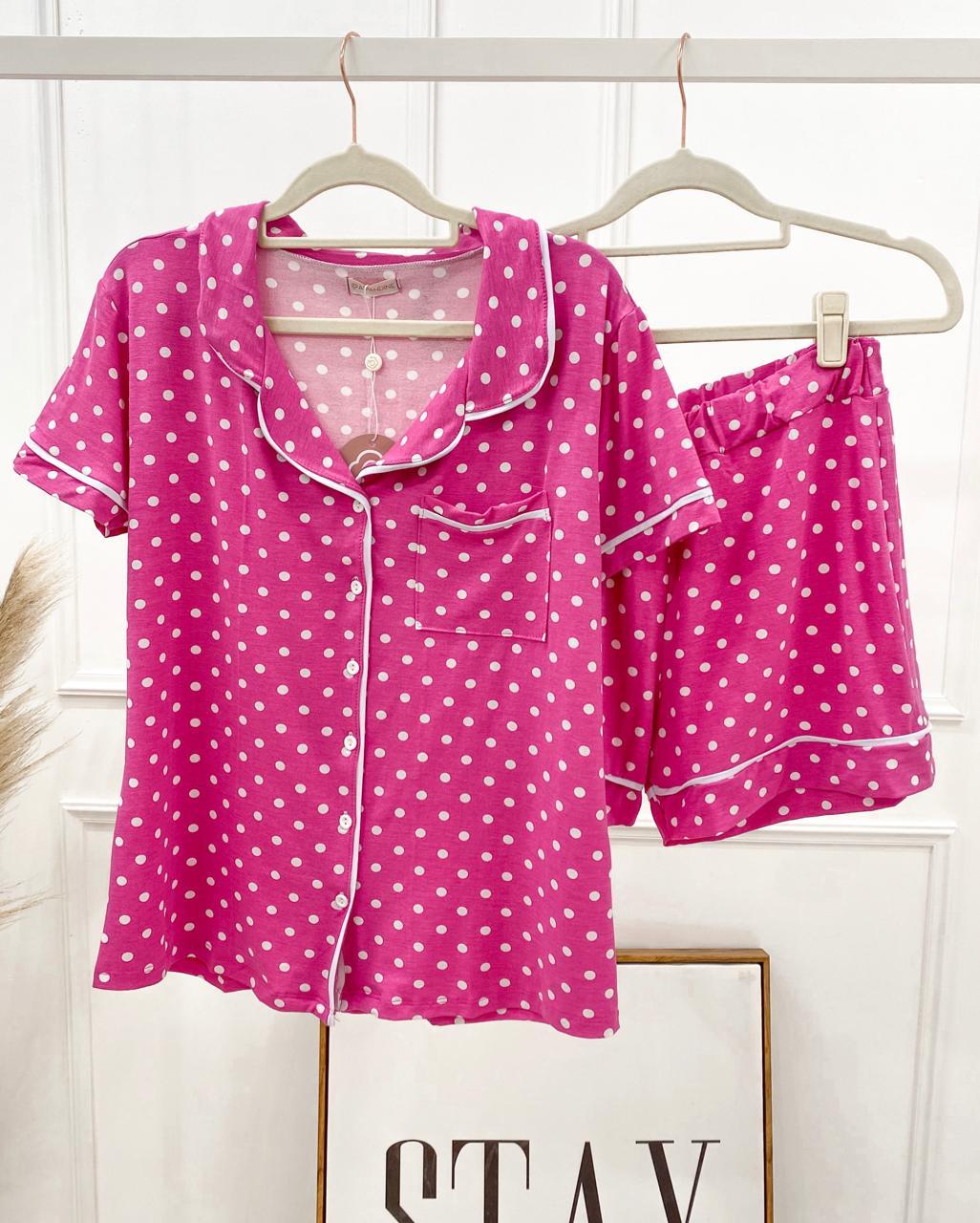 Pijama Rosa de Poá