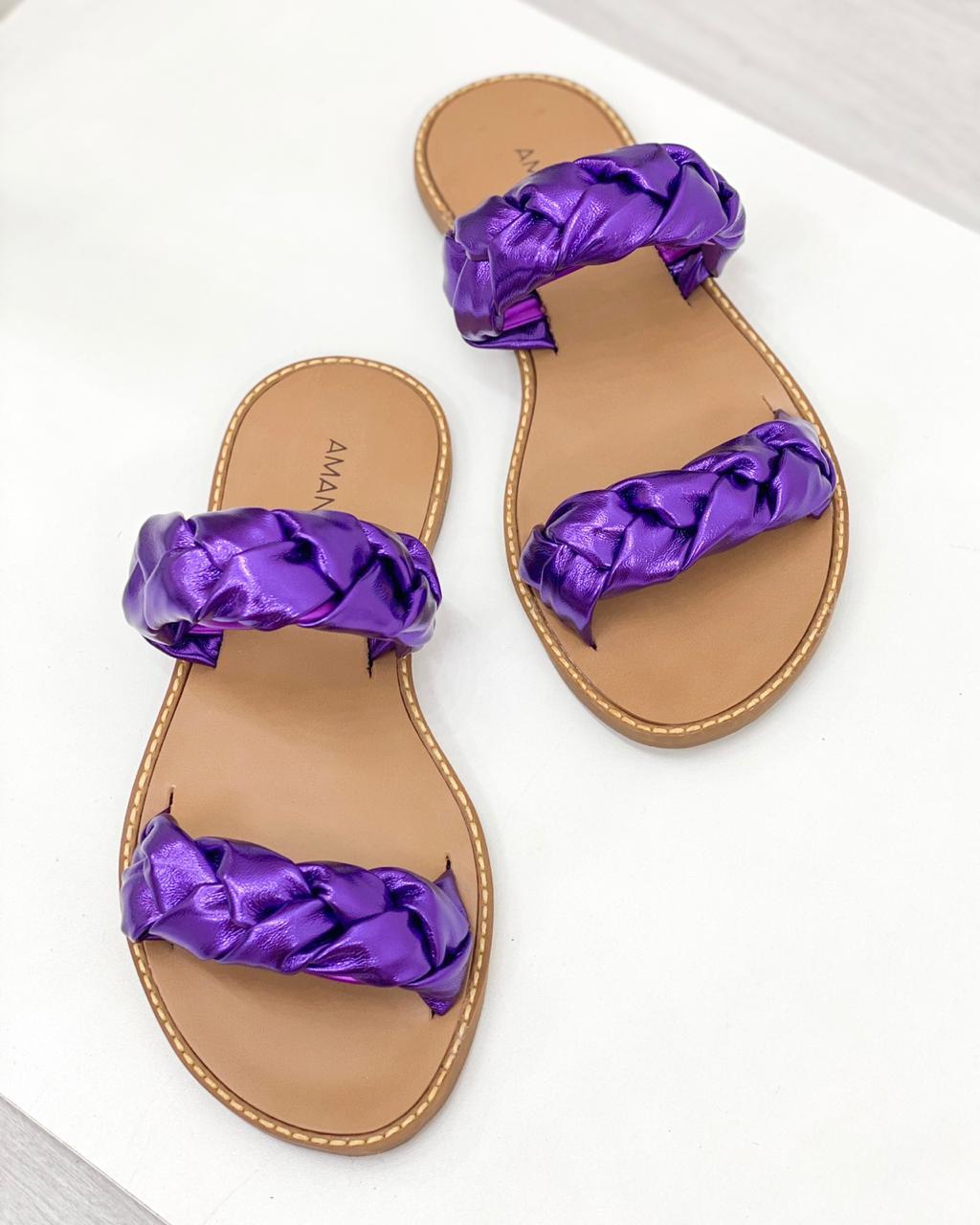 Rasteira Nina Purple