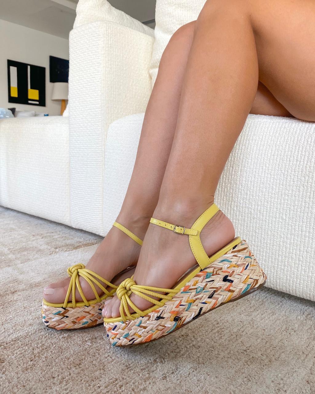 Sandália Maresias Amarelo