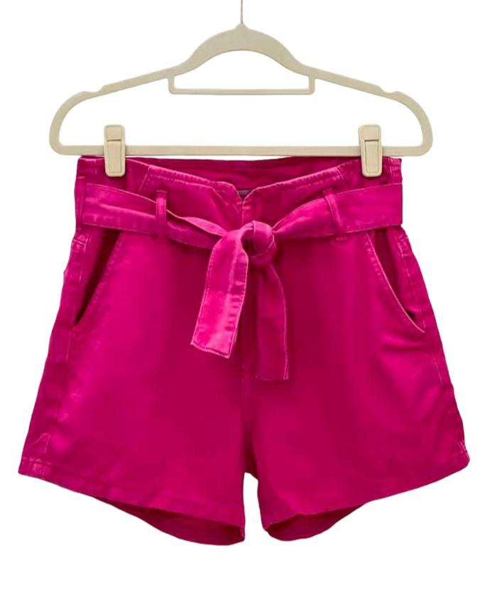 Short Jeans clochard Pink