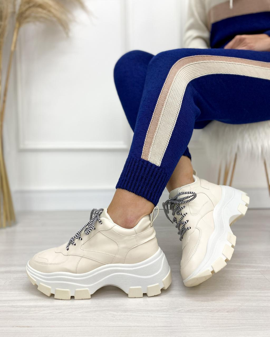 Tênis Chunky Off-White Tênis Amandine Shoes