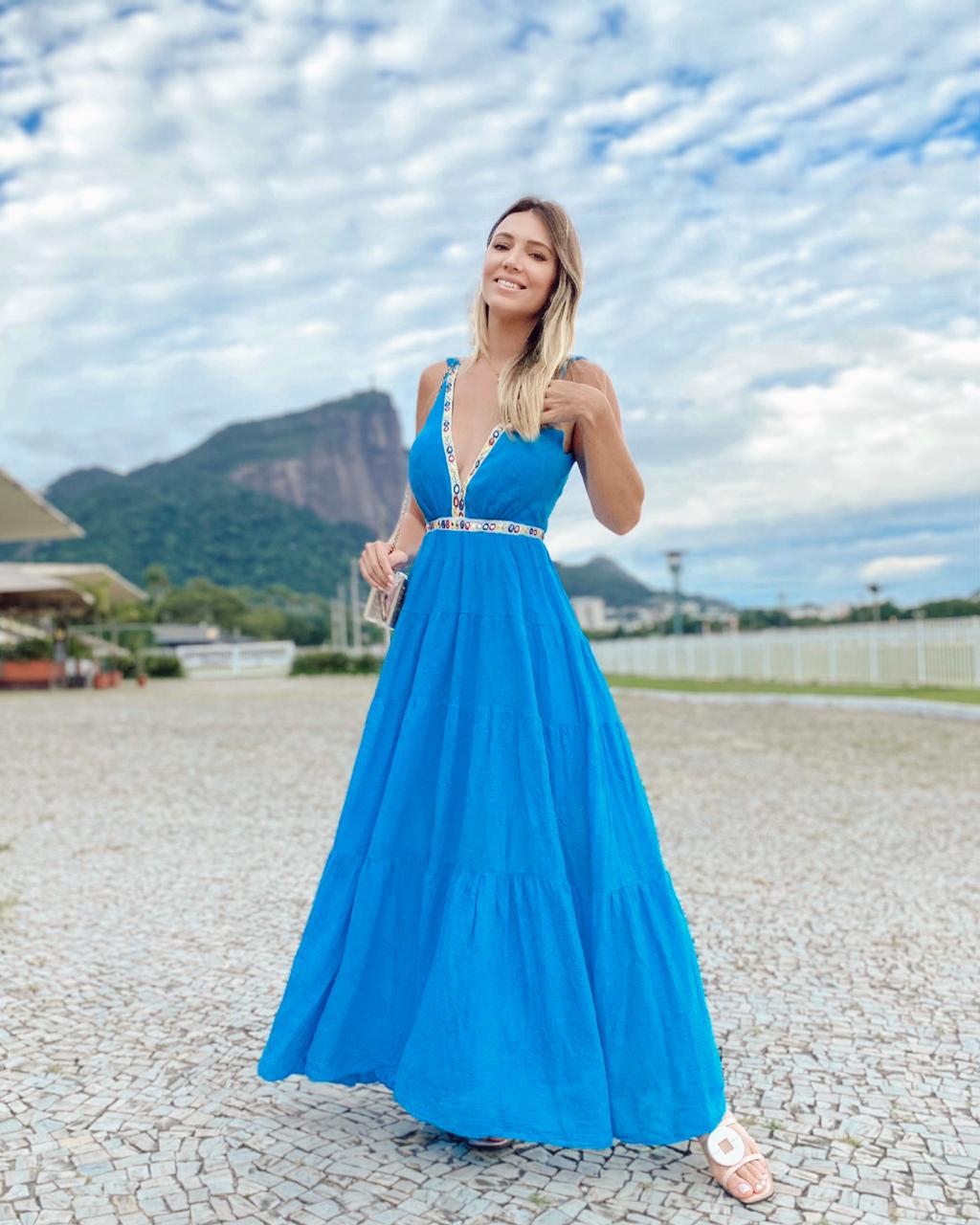 Vestido Angra dos Reis Azul