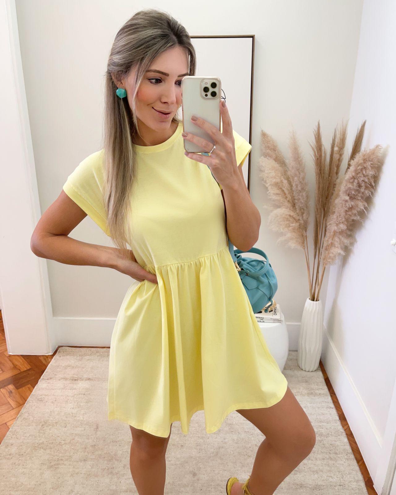 Vestido Blessed Amarelo