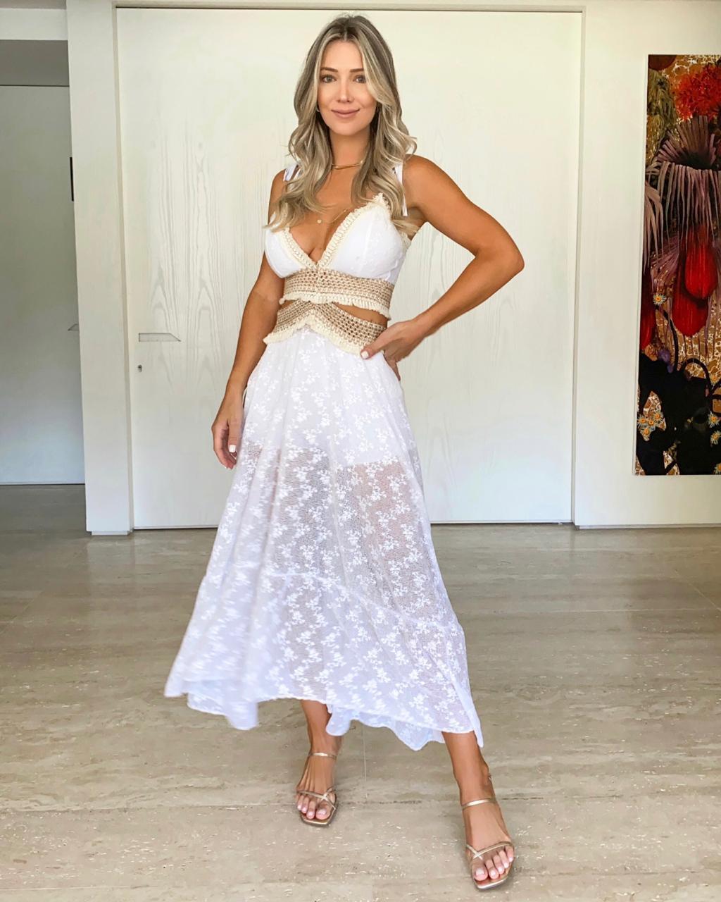 Vestido Branco Caraíva
