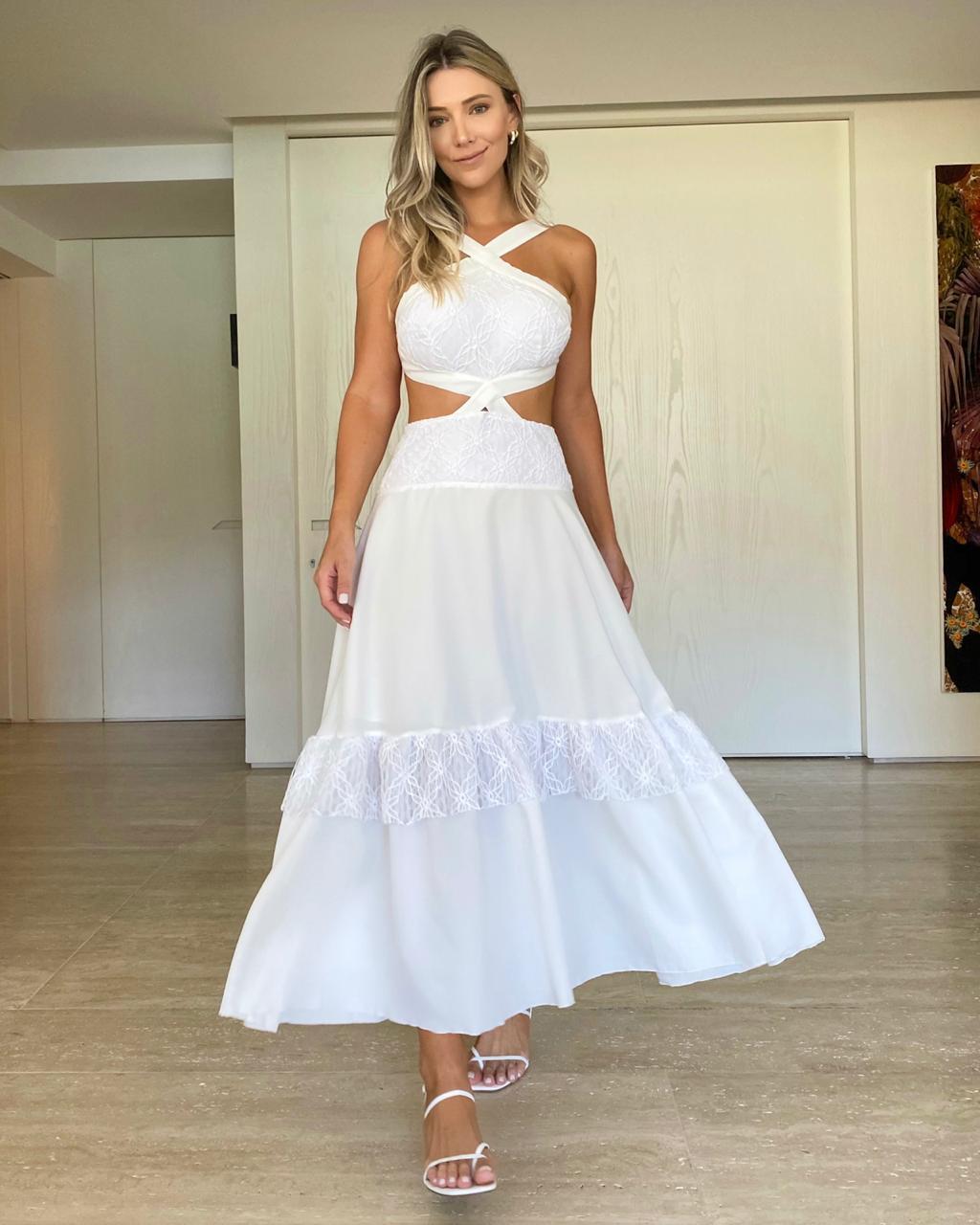 Vestido Branco Noronha