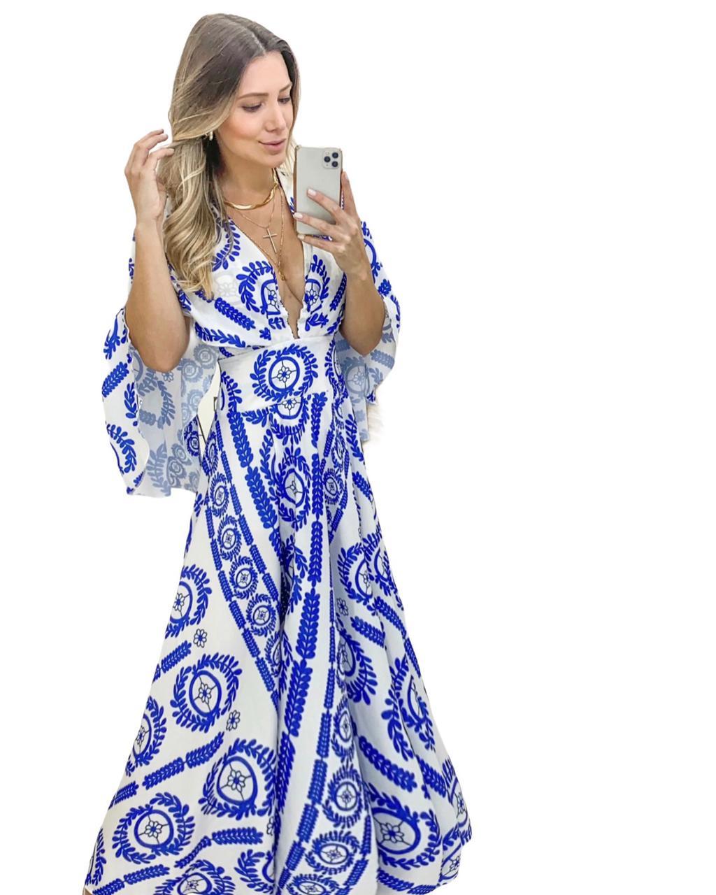 Vestido Longo Greece