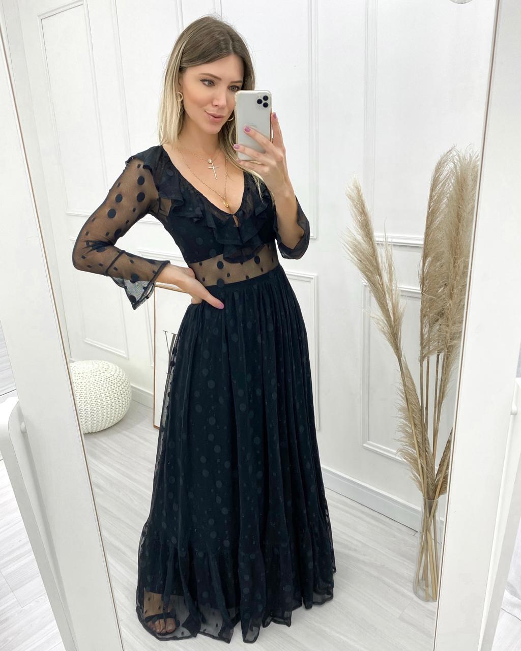 Vestido Longo Paris
