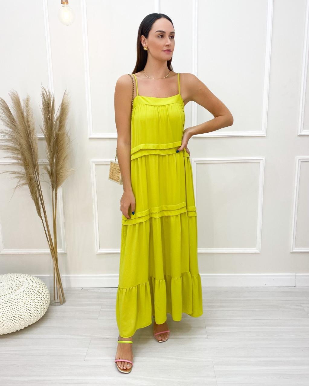 Vestido Longo Pietra Lima