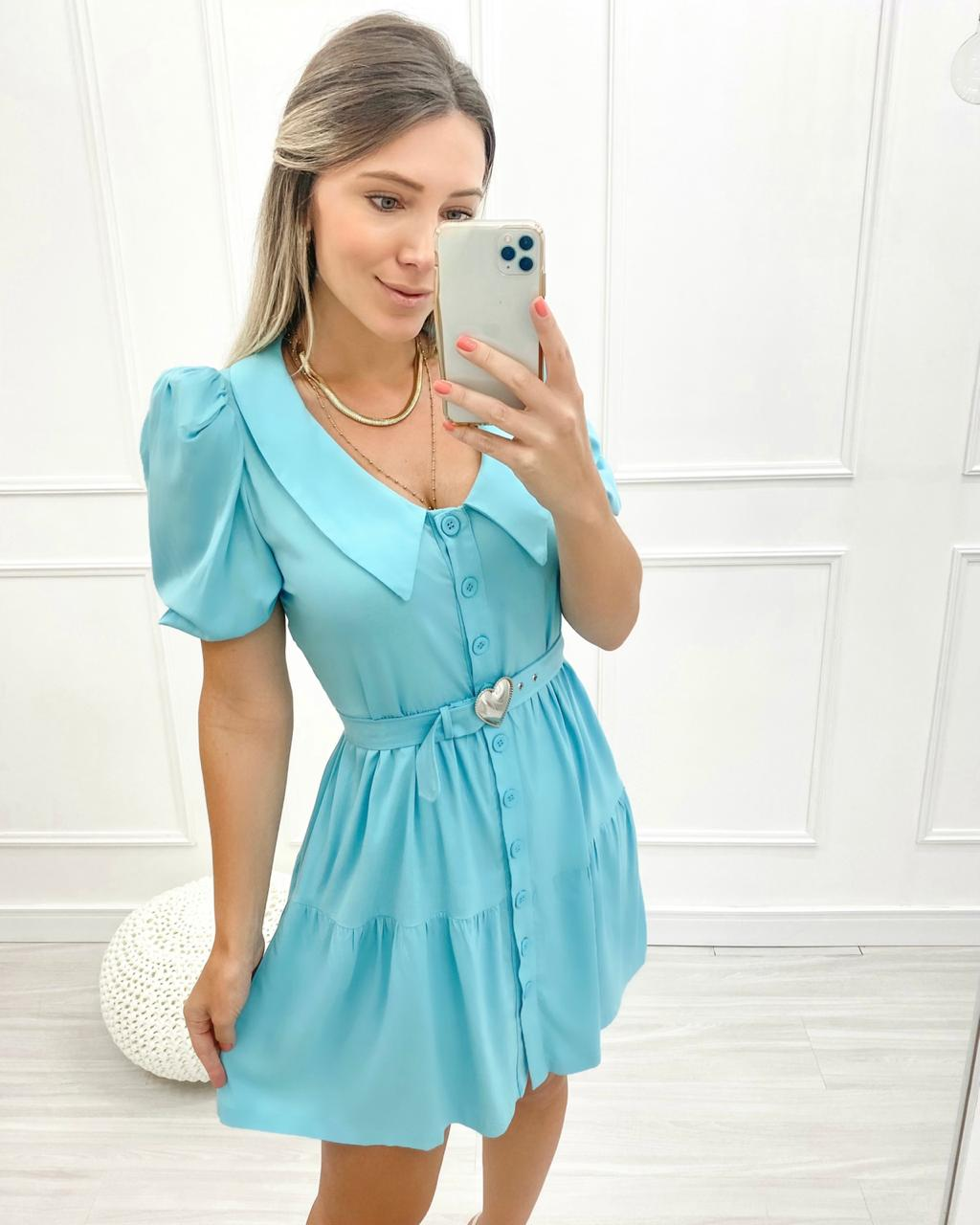 Vestido Lovely Azul