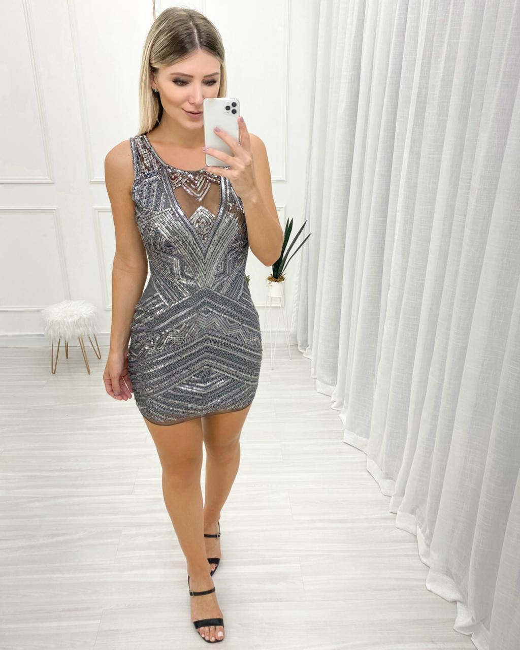 Vestido Luxo