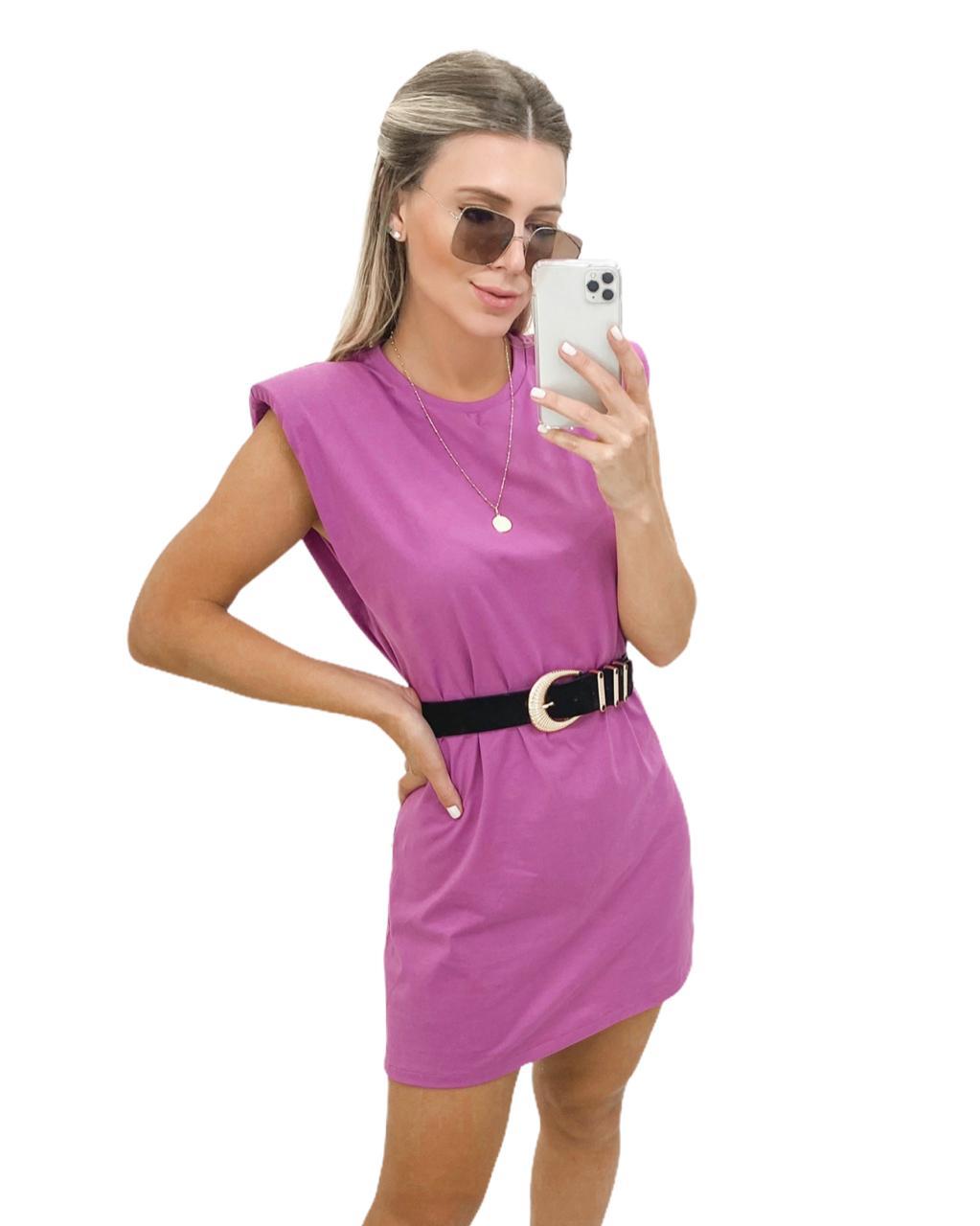 Vestido Muscle Purple