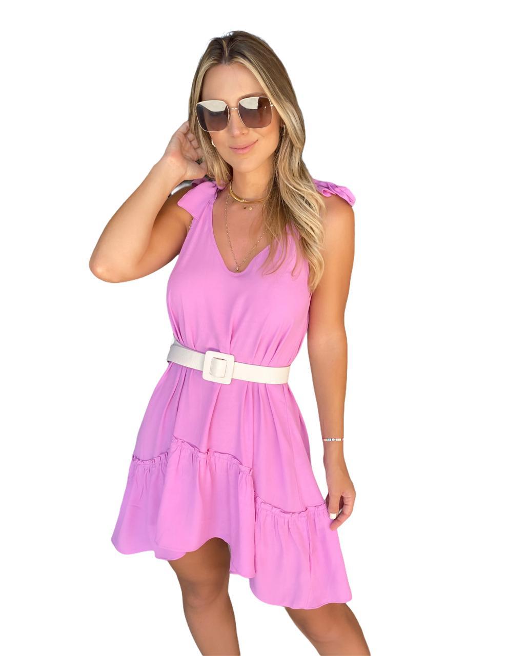 Vestido Sicília Rosa