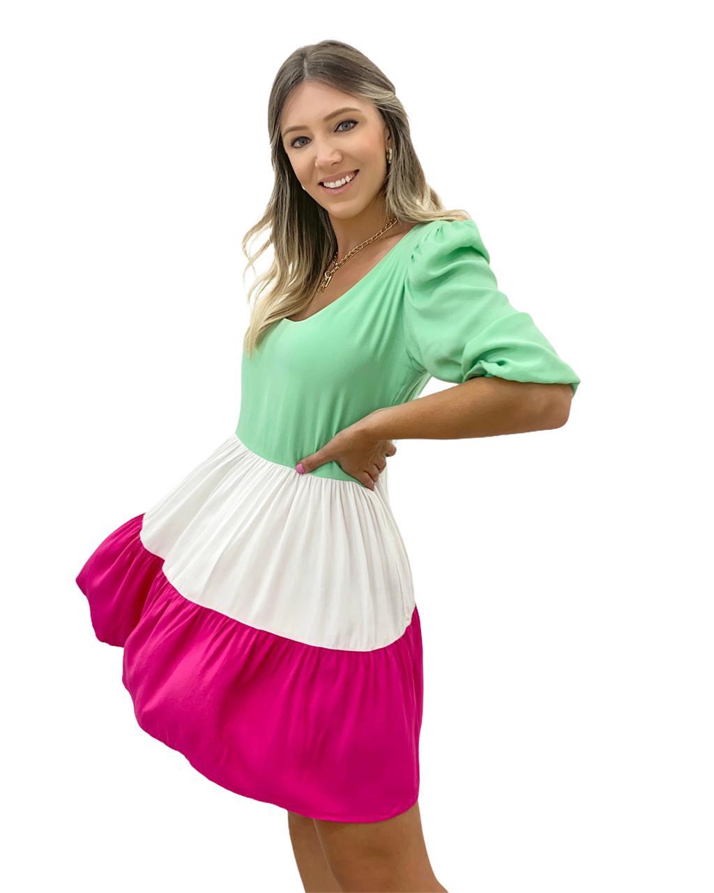 Vestido Summer Colors