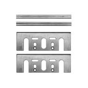 02 Mini Facas 82x5.5x1.2mm p/ Plaina N1900B Makita D-07951