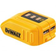Adaptador Usb Carregador Bateria Power Bank Dewalt Dcb090