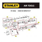 Arruela P/ Chave de Impacto 97-134LA Stanley ATSV-361-41-A
