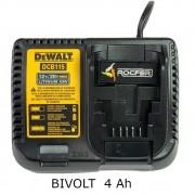 Carregador Dcb101 Li-ion 12v. A 20v P/ Dcd780 DeWALT 110v N406057