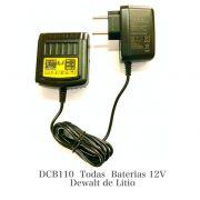 Carregador Dewalt 12V 1.25A DCB110 Original Moderno e Compacto Or