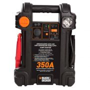 Compressor Inflador Integrado 12V 7Ah 350A Bivolt Black+Decker