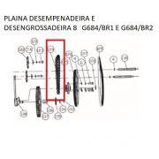 Corrente P/ Plaina Dessengrossadeira G684 Gamma PRG684/BR-124