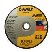 "Disco Corte Inox HP2 7"" x 1,6mm x 7/8"" Dewalt DW84705"