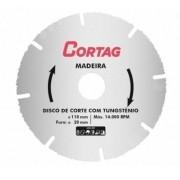 Disco de Corte Com Tungstênio 110mm Cortag 61346