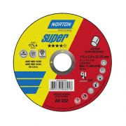 Disco de Corte Inox 4.1/2 x 1/8 x 7/8 AR332 Norton 66252842955