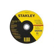 "Disco de Corte Metal 4 1/2"" X 3,0mm X 7/8"" Stanley STA0410F"