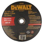 Disco de Corte - Metal 9'' X 3,2mm X 7/8'' DeWALT DW44600