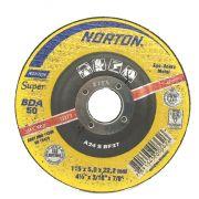 Disco de Desbaste 115 X 5 X 22,22 4.1/2 Norton BDA50 66252843686