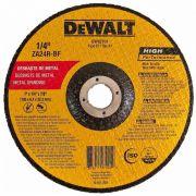 "Disco de Desbaste DW82701 Dewalt Alta Performance (Zircônia) 7""x 1/4 x 7/8"