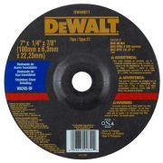 "Disco de Desbaste - Inox 7"" X 6,3mm X 7/8"" DeWALT DW44811"