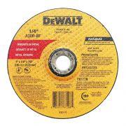 "Disco de Desbaste Metal 7""x1/4""x7/8""  DW4714F-AR Alto Rendimento DeWALT"