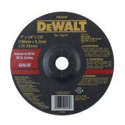 Disco de Desbaste - Metal 7'' X 6,3mm X 7/8'' DeWALT DW44580