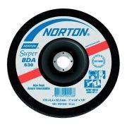Disco de Desbaste Norton 4.1/2X1/4X7/8 BDA630 Aço Inox 66252841265