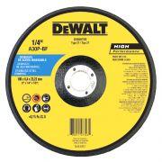 "Disco de Desbaste para Inox 7""x1/4""x 7/8""  DEWALT DW80705"