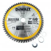 Disco De Serra 60D Dewalt 254MM Furo 30MM DW03120