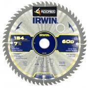Disco de Serra Circular Irwin 7.1/4 Pol 60 Dentes IW14110 184MMX60DX20MM
