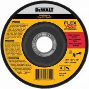 Disco Desbaste Flexvolt 4.1/2 x 1/4 x 7/8 DeWALT DWAFV84514