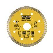 """Disco Diamantado Porcelanato DW57400BHP 4""""  105mm Dewalt P/ Serra"""