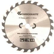 """Disco Serra Circular com Pontas de Widea Carbografite 24 dentes x 300mm x Furo 30mm  (012478512)   (12"""")"""
