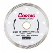 Discos de Corte Diamantado Turbo Porcelanato Cortag 60863